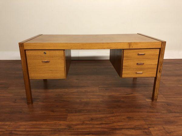 Danish Modern Vintage Teak Desk – $650