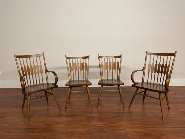 Drexel Declaration Dining Chairs Set of 4 – $995