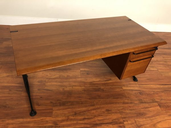 SOLD – Geoff Hollington Relay Desk with File Drawers