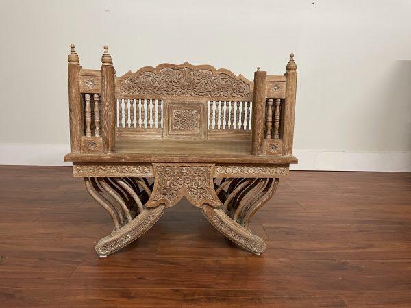 Vintage Thai Howdah Elephant Chair – $750