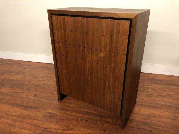 Dillingham Walnut 6 Drawer Highboy Dresser – $1195