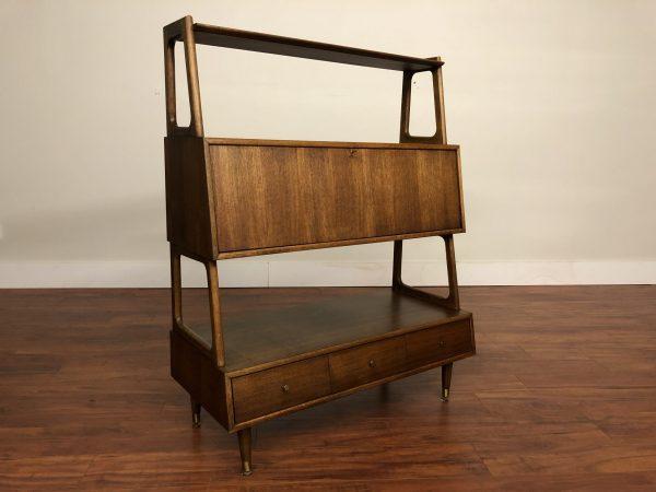 Mid Century Vintage Desk / Shelf – $1295
