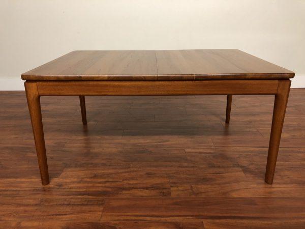 Danish Modern Solid Teak Dining Table – $1695
