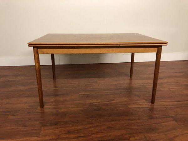 Am Mobler Teak Draw Leaf Dining Table – $1375