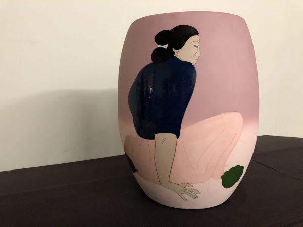 R.C. Gorman Large Pottery Vessel – $1195