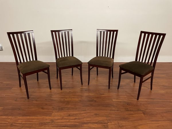 Set of 4 Italian High Back Dining Chairs – $395