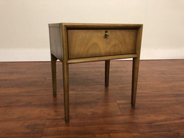 Mid Century Single Drawer Nightstand – $250