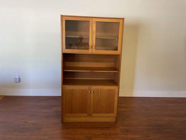 Skrillinge Mobelfabrik Teak Bookcase / Cabinet – $595