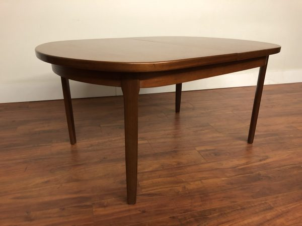 Vintage Butterfly Leaf Oval Dining Table – $1250