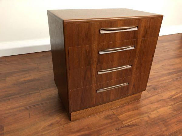 G-Plan Fresco Four Drawer Teak Dresser – $895