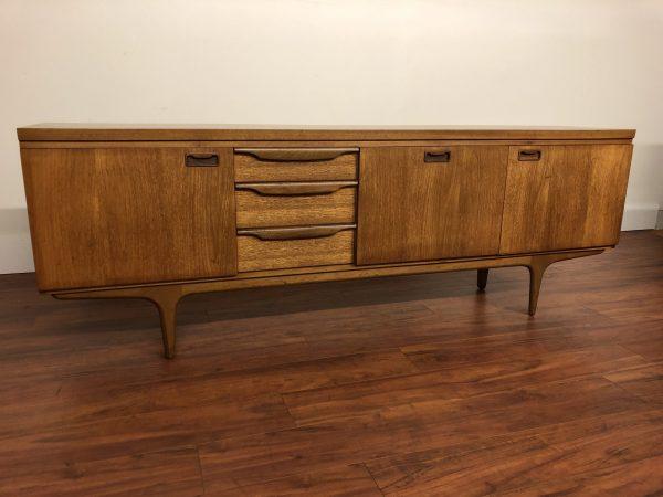 Greaves & Thomas 1960s Teak Sideboard – $1750