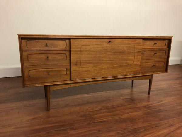 White & Newton Mid Century Sideboard / Bar – $1595