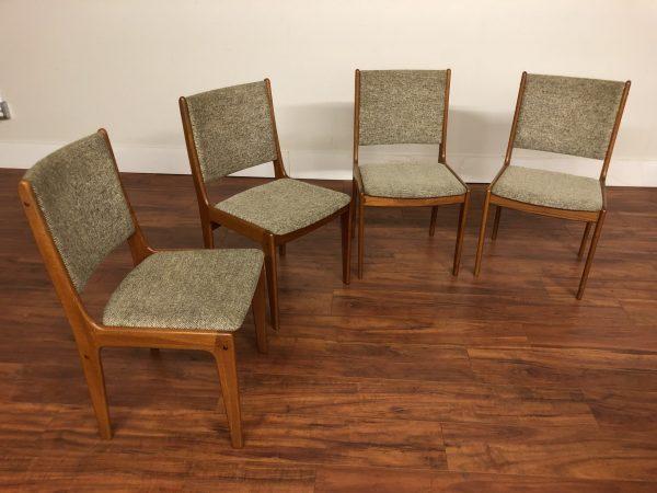 Teak Dining Chairs Set of 4 – $650