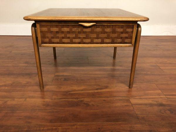 Lane Perception Square Side Table – $375