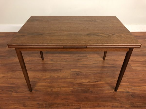 Danish Small Draw Leaf Dining Table – $1375