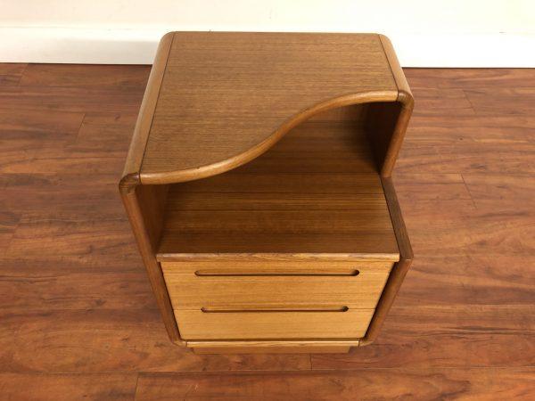 Danish Modern Teak Nightstand – $295