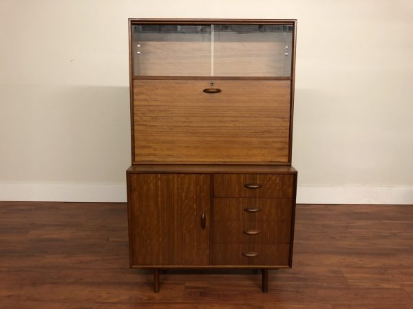 Mid Century Two Piece Dry Bar – $1375