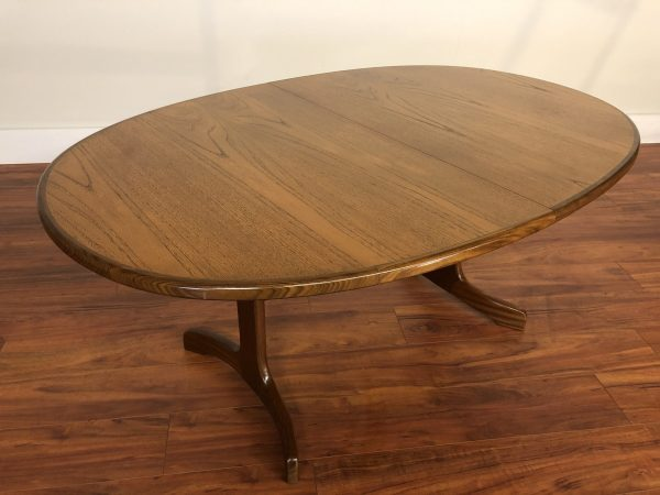 G-Plan Whale Tail Butterfly Leaf Dining Table – $1395