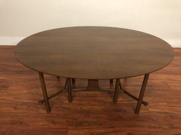 Heritage Henredon Walnut Dining Table – $1695
