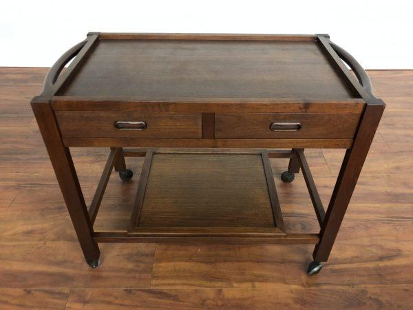 Danish Modern Bar Cart / Tea Trolley – $695