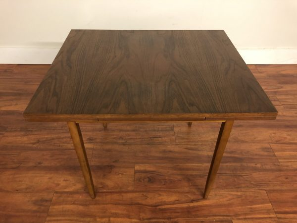 SOLD – Vintage Compact Draw Leaf Dining Table