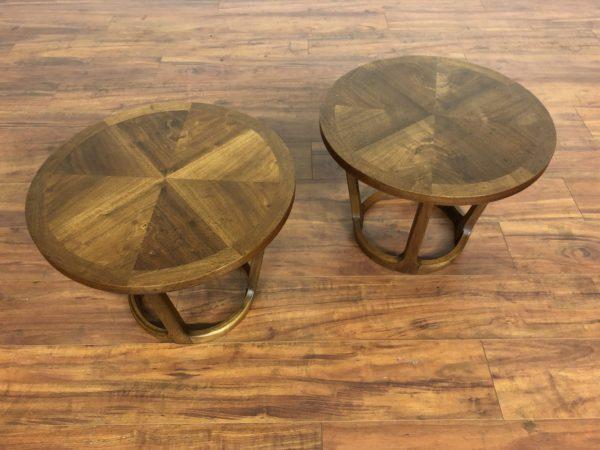 Pair of Vintage Lane Rhythm Side Tables – $795