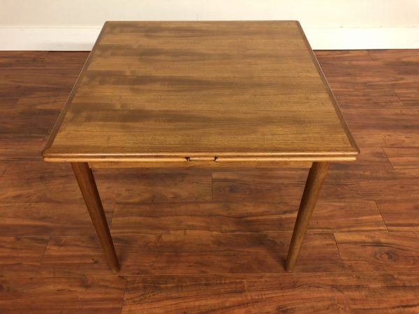 Danish Modern Small Teak Dining Table – $1250