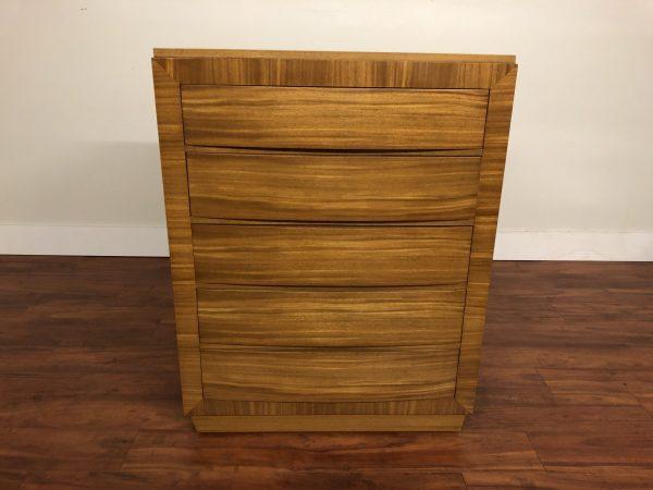 R-Way Blonde Mahogany Highboy Dresser – $750