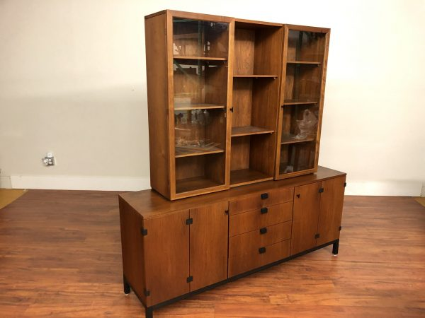 SOLD – Milo Baughman for Directional Sideboard / Hutch