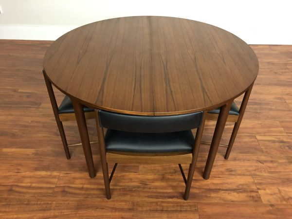 SOLD – McIntosh Teak Dining Set, Table & 4 Chairs