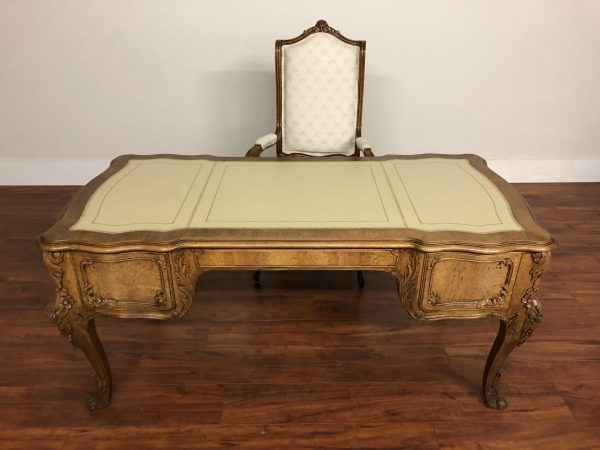 Louis XV Style Desk With Matching Chair – $1495