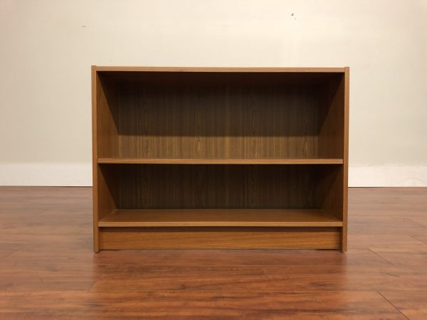 SOLD – Danish Teak Low Bookcase
