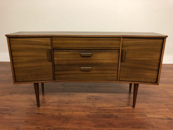 Uniflex Vintage Mid Century Angled Sideboard – $1375