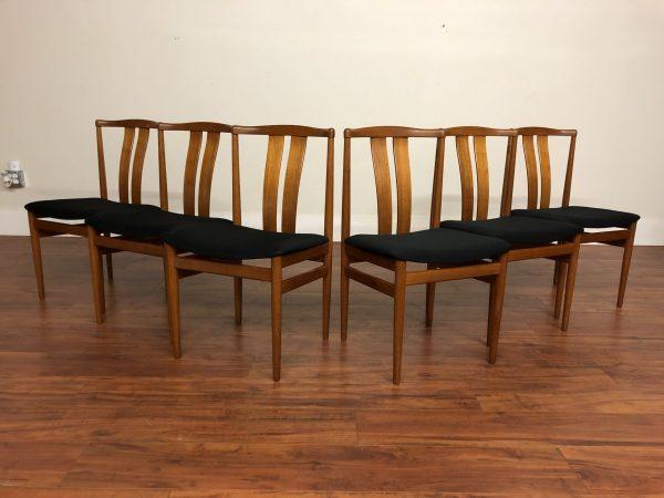 Vamdrup Stolefabrik Teak Dining Chairs, Set of 6 – $1950