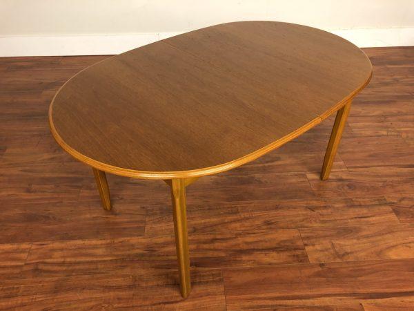 Farstrup Danish Teak Oval Dining Table – $1195