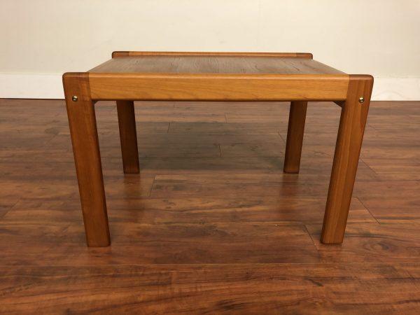 Danish Modern Teak Side Table – $195