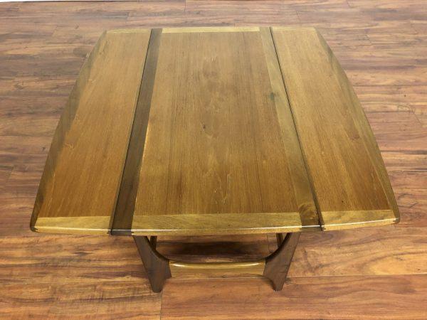 Vintage Expandable Teak Coffee Table – $595