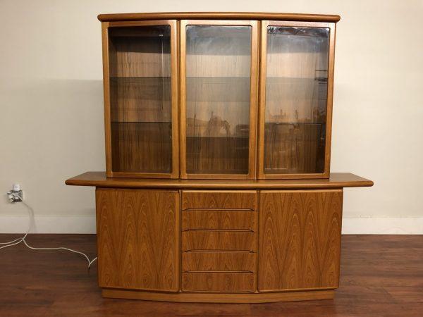 Rasmus Vintage Teak Sideboard & Hutch – $1595